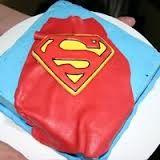 Image result for fondant superman cape