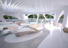 Yacht Concept: Zaha Hadid's Jazz Superyacht
