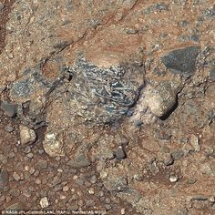 A home from home: Curiosity finds Martian crust that reveals red planet is far more like Earth than thought | Daily Mail Online