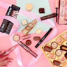 Reaching into our makeup bag is like a box of chocolate. We don't know what we're going to get, but we know it's going to be sweet.