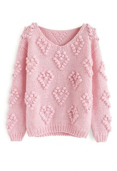 Knit Your Love – Strickjacke in Fliederfarben - Retro, Indie and Unique Fashion Chunky Knit Cardigan, Cable Knit Sweaters, Open Cardigan, Chunky Knits, Vintage Tops, Unique Fashion, Cute Valentines Day Outfits, Style Blog, Valentine's Day Outfit