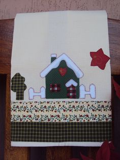 Natal- Pano de Prato by Mi Fernandes Patchwork, via Flickr