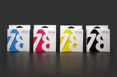 Epson Ink Cartridge packaging concept