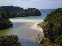 Mill Creek & Bathing Beach at Visit Stewart Island, NZ