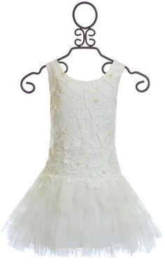 Biscotti Wedding Party Drop Waist Dress
