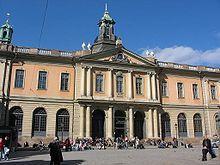 Façade of the Stock Exchange Building; Stortorget (Stockholm)