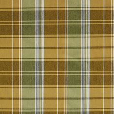 The K6919 SPRING PLAID upholstery fabric by KOVI Fabrics features Country or Lodge or Cabin, Plaid or Gingham pattern and Dark Green, Gold or Yellow, Light Green as its colors. It is a Damask or Jacquard type of upholstery fabric and it is made of 52% Polyester, 48% Cotton material. It is rated Exceeds 100,000 Double Rubs (Heavy Duty) which makes this upholstery fabric ideal for residential, commercial and hospitality upholstery projects. This upholstery fabric is 54 inches wide 800-8603105