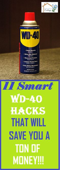 This product is so versatile, check out these smart hacks that will make you wonder why you did not think of that before. #hacks #home #cleaning #cleaningtips #cleaninghacks #wd40