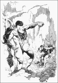 Cap'n's Comics: At The Earth's Core With Frank Frazetta