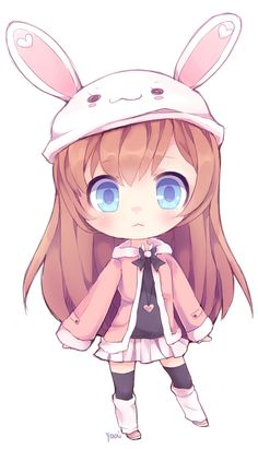 Cute Anime Girl Chibi – Learn All About Cute Anime Girl Chibi From This Politician Chibi Kawaii, Loli Kawaii, Cute Anime Chibi, Kawaii Cute, Kawaii Bunny, Manga Anime, Manga Girl, Anime Art, Kawaii Drawings