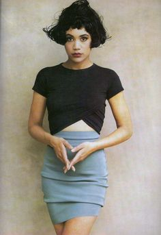 ELLE UK August 1987 Shrink To Fit styled by Lucinda Chambers and photographed by Martin Brading