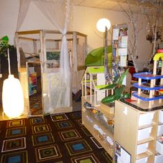 Reggio inspired classroom environment
