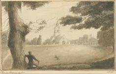 St Johh the Baprist Church in Hillingdon. The ancient parishes are Cowley, Cranford, Harefield, Harlington, Harmondsworth, Hayes, Hillingdon, Ickenham, Ruislip and West Drayton.