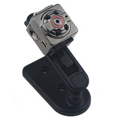 GenLed HD 1080P Mini Hidden Spy Camera DV IndoorOutdoor Sport Portable Handheld Voice Video Recorder with Infrared Night VisionVideoPC CameraRecordTake PhotosMotion DetectingTF Card Slot >>> Visit the image link more details. Note:It is affiliate link to Amazon.