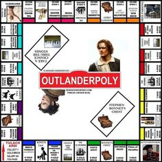 Have a little fun with 18 Outlander themed games Fan Art Outlander, Outlander Funny, Outlander Gifts, Outlander Quotes, Sam Heughan Outlander, Starz Outlander, Outlander Costumes, Outlander Book Series, Movies