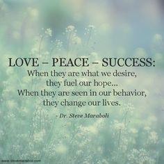 Live ~ Peace ~ Success