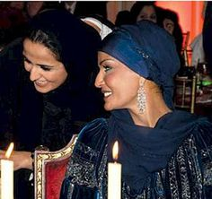 Stylish.Muslimah: Celebrity Style Steal..Sheikha Mozah