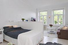 Дизайн интерьера маленьких квартир 41 кв м в Швеции
