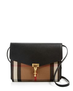 Burberry Small House Check Macken Crossbody