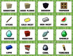 Minecraft-food-labels