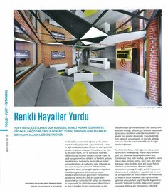 #rendahelindesign #rendahelin #press #new #publication #magazine #turkey #xxımagazine #may2016 #interiordesign #interior #awards #konforistedusuites #konforist #male #dorm #student #hostel