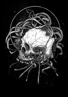 Illustration by Daniel Schooler, via Behance