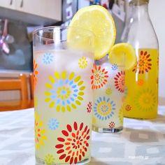 Homemade Lemonade, Greek Recipes, Pillar Candles, Dessert Recipes, Table Decorations, Food, Home Decor, Kitchens, Homemade Home Decor