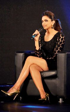 Va Va Voom! Deepika Padukone Stuns In Little Black Dress