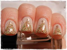Girly Bits Eggnogaholic with Jindie Nails Noel. | From A Girl and Her Polish: Let It Snow!