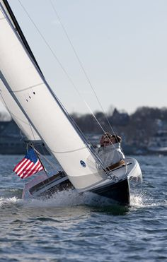 CW Hood 32 Classic Daysailer - Spirit of Tradition.  Photo by Billy Black