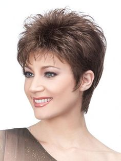 Wigsis provides variety of Brown Boycuts Soft Straight Short Wigs with good customer service and fast shipment, including short curly wigs,short brown wig for customer. Click Visit link above to see more - Wigs buying ideas Short Choppy Hair, Short Curly Wigs, Short Pixie Haircuts, Short Hair With Layers, Short Hair Cuts For Women, Long Hair, Choppy Cut, Human Hair Wigs, Wig Hairstyles