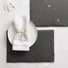 Slate Rectangular Placemat - Set of 2 #whitechristmaswishlist