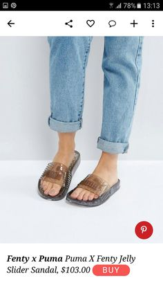 Fenty x Puma jelly sandal