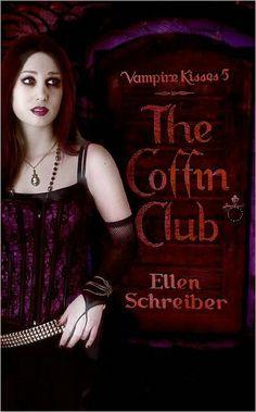 The Coffin Club (Vampire Kisses #5) by Ellen Schreiber