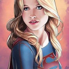 """Drawing Dc Comics league-of-extraordinarycomics: """"Supergirl by Mike S. Comic Book Characters, Comic Character, Comic Books Art, Comic Art, Heros Comics, Dc Comics Art, Comics Girls, Melissa Supergirl, Supergirl Tv"""