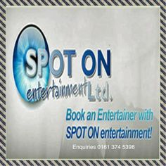 Enquiry Form Now Booking | Spot On Entertainment | Book an entertainer today by filling in the Enquiry form below Please leave full details of the event you're planning. Give us as much information as possible – including an indication of your budget. Request a quote: Ready to book an act? Want more information? We look forward to hearing... #bookanentertainer #corporateentertainment #enquiryform