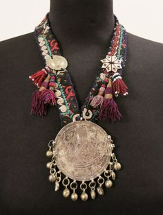 Handmade ethnic necklace with vintage Turkoman by EthnicTree