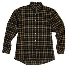 Plaid Flannel Shirt                     PRICE  $31.99   Item# D14038  Sale Price: $12.80  - Brushed cotton flannel  - Multi-use utility pocket  - Adjustable cuffs  - Double needle stitching
