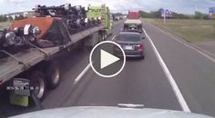 Truckers Help Each Other Against A Bastard!