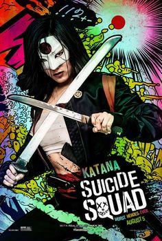 Suicide Squad, 2016 - Katana Poster