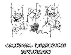 Werkboekje Carnaval Bovenbouw
