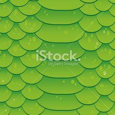 Snake skin texture. Seamless pattern green background. Vector Royalty Free Stock Vector Art Illustration