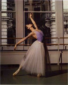 Zhong-Jing-Fang, a corps dancer with the American Ballet Theatre.