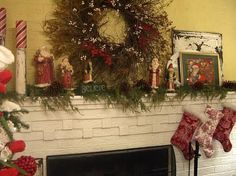 Cherry Hill Cottage mantle