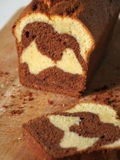Cake marbré pour épater les copain !