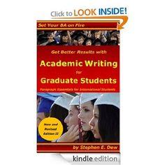 academic writing skills for graduate students
