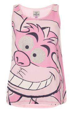 Ladies-DISNEY-ALICE-IN-WONDERLAND-Pyjamas-Primark-Womens-T-shirt-Leggings