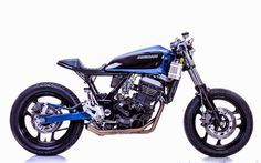 "RocketGarage Cafe Racer: Kawasaki Ninja 250 ""Mayonaka"""
