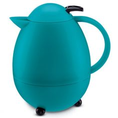 Turquoise Coffee Carafe....keeps 8 cups of coffee hot!