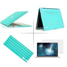 Tffany Blue Rubberized case keyboard cover Macbook Pro Air Retina 11 13 15
